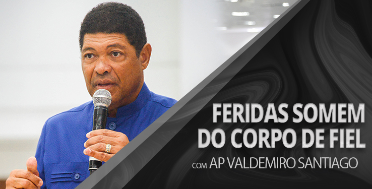 Feridas somem do corpo de fiel // Milagre 10/02/19